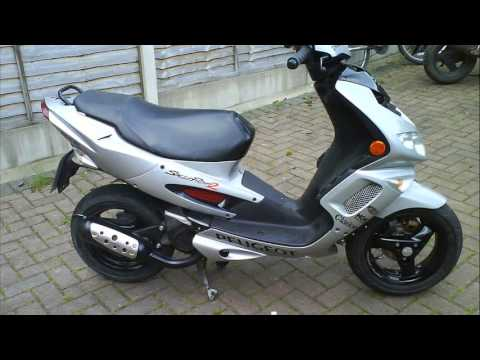 peugeot speedfight 2 50cc review  YouTube