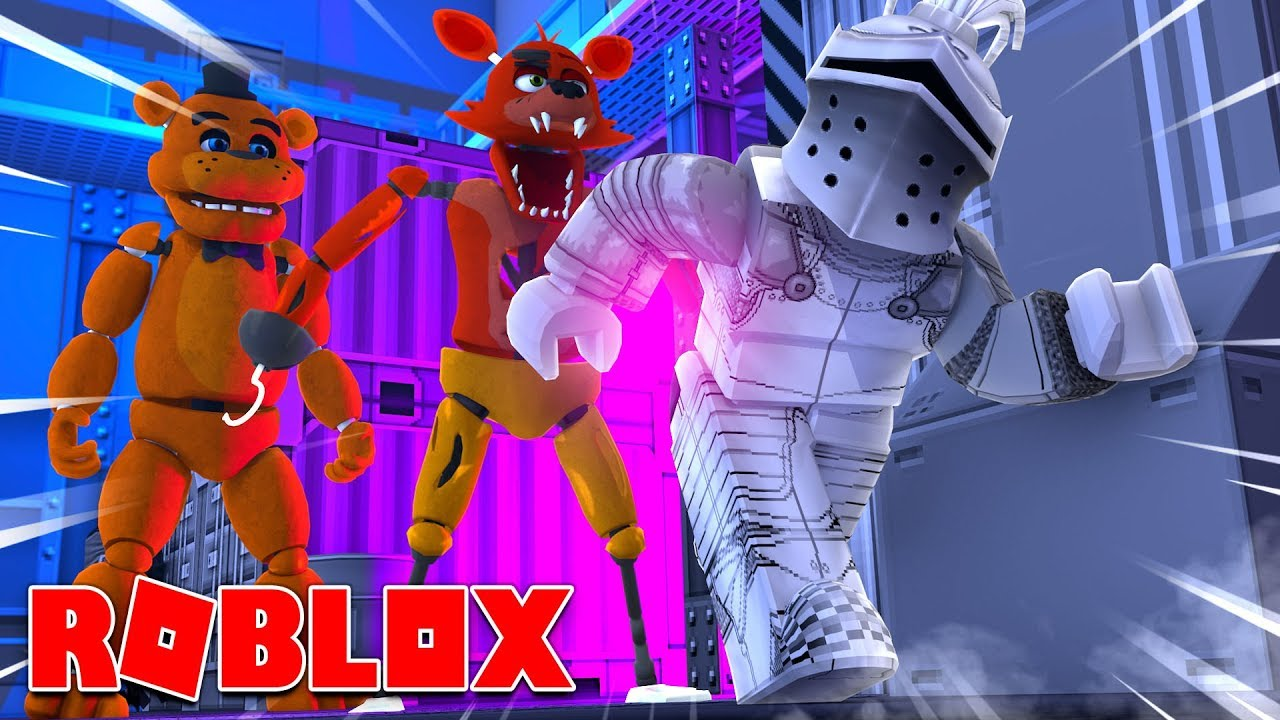ESCAPE FROM FNAF ?! | Roblox Five Nights At Freddy's Obby