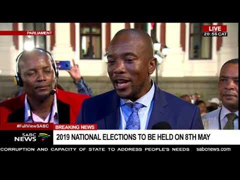 DA's Mmusi Maimane reacts to SONA 2019