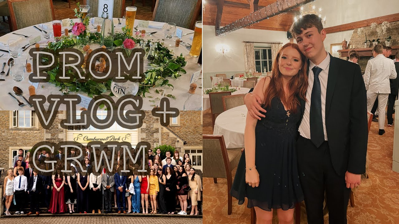 prom 2021 (grwm + vlog) - what a british sixth form prom is actually like