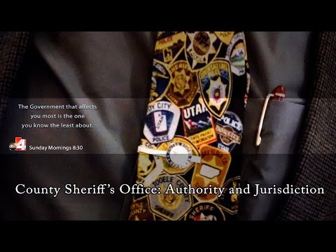 The County Sheriff's Office Authority and Jurisdiction