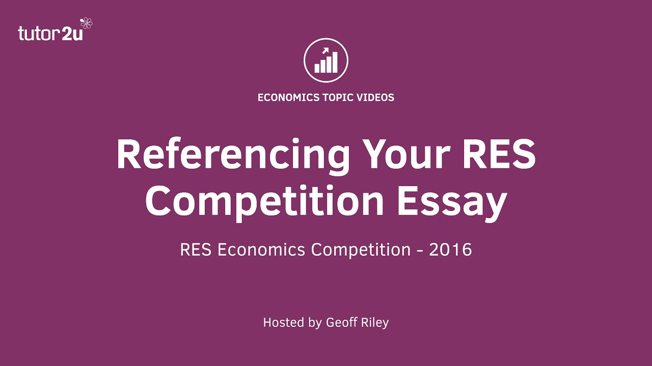 referencing your res competition essay  referencing your res competition essay