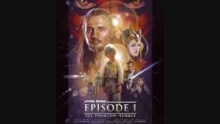 Star Wars and The Phantom Menace Soundtrack-01 Main Titile and The Arrival at Naboo