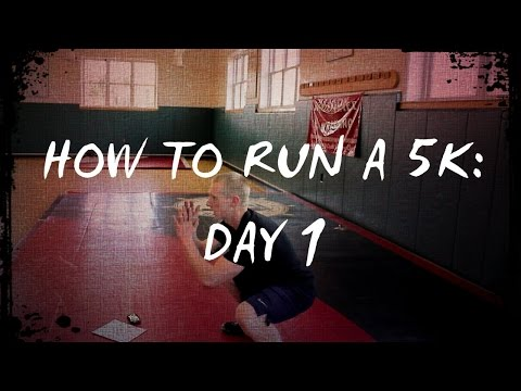 How to Run A 5K: Day 1 Training For Beginners