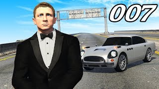 playing As JAMES BOND in GTA 5!