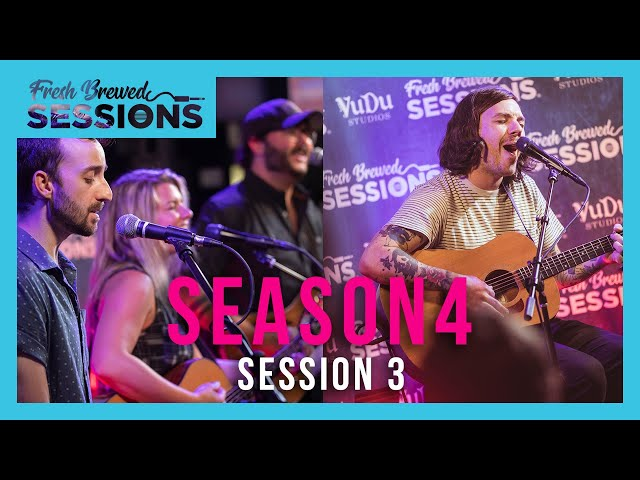 Fresh Brewed Session I Session 3   Natalie & The Damn Shandys, and Kurt Travis