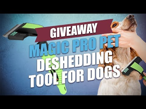 Giveaway: Magic Pro Pet Deshedding Tool for Dogs