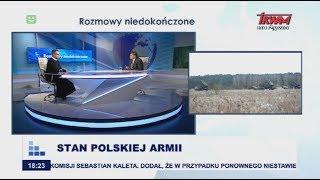 Rozmowy niedokończone: Stan polskiej armii cz.I