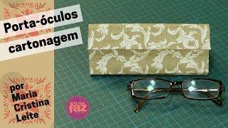 Porta – óculos em cartonagem