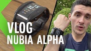 Nubia Alpha ¿smartphone flexible o un smartwatch normal?   24H usándolo