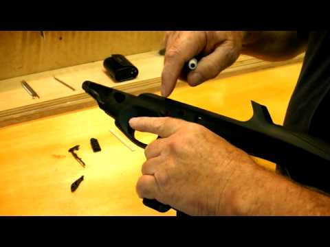 Beretta CX4 Storm Trigger Assembly Removal
