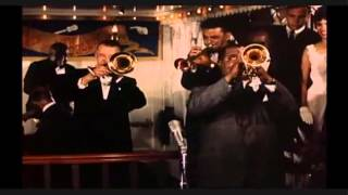 LOUIS ARMSTRONG FEAT. KID ORY BAND - MARK TWAIN RIVERBOAT AT DISNEYLAND IN 1962