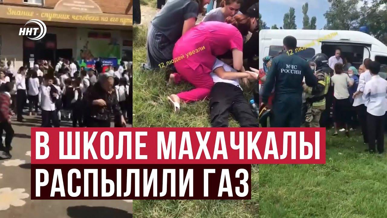 Газ распылили в школе Махачкалы: 16 детей в больнице