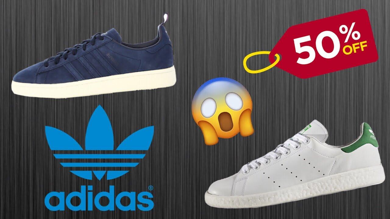 adidas 50 descuento 2018 El mejor catalogo de zapatillas