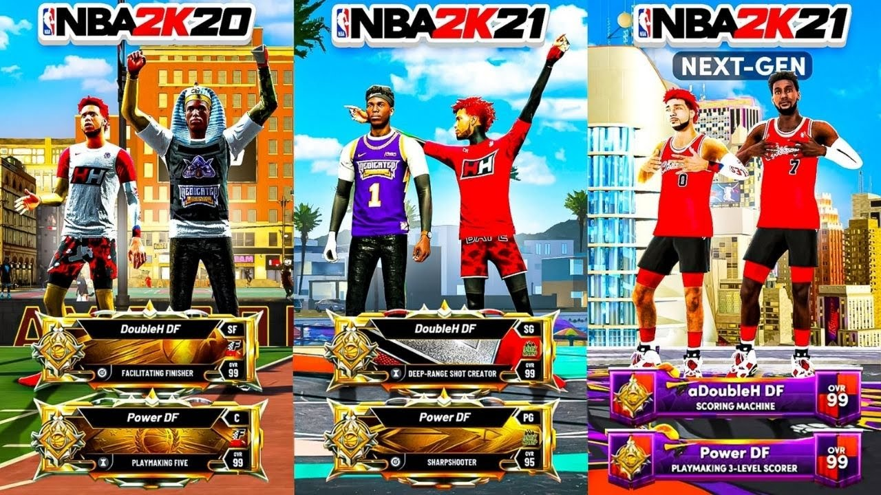 THE ONLY 2K DUO THATS LEGEND ON EVERY SINGLE 2K..... NBA2K (NO-LIFE EDITION)