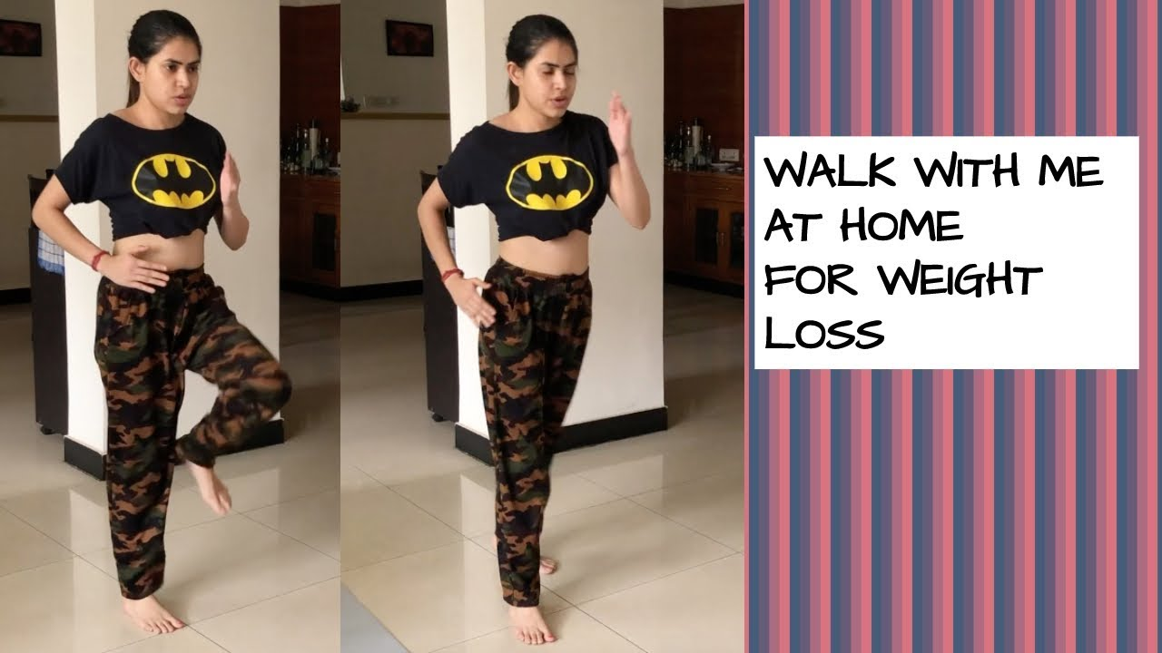 WALKING at home for weight loss | Lose 5 kgs for beginners workout #BODYLOVE06