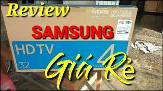 Mẫu TiVi SamSung 32inch Chất Lượng Cao Giá Rẻ//Hướng Dẫn Cách Lắp Đặt Và Sử Dụng Smart Tivi