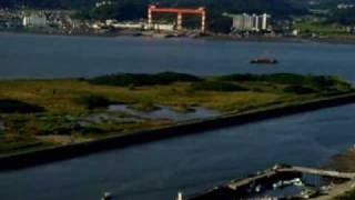 KOREA West Sea. Korea fishing village[ Korea sea village ]. GunSan city.WolMyeong Park.KOREA.