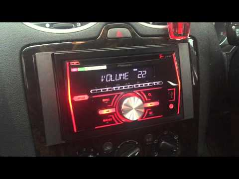 Ford Focus MK2 Pioneer Double Din FH460ui -Car Audio Centre Nottingham