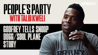 Godfrey Talks Working With Snoop Dogg On 'Soul Plane' | People's Party Preview Clip