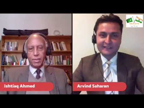 The Partition of India - In conversation with Professor, Dr. Ishtiaq Ahmed - Episode 2