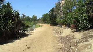 Mountain Biking In The Yorba Linda Lakebed Park, Orange County, California