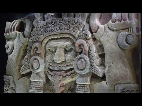 Aztec Monolith of Tlaltecuhtli (Earth Lord)