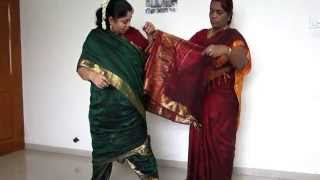 How to Tie Madisar Iyer Saree (www.mamamami.in/shop)