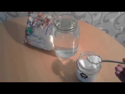 Как приготовить солевой раствор в домашних условиях