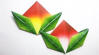 Peaches Origami tutorial !