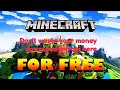 Minecraft For Free
