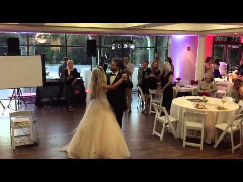 Justin Ervin and Ellie Ervin First Dance as Husband and Wife