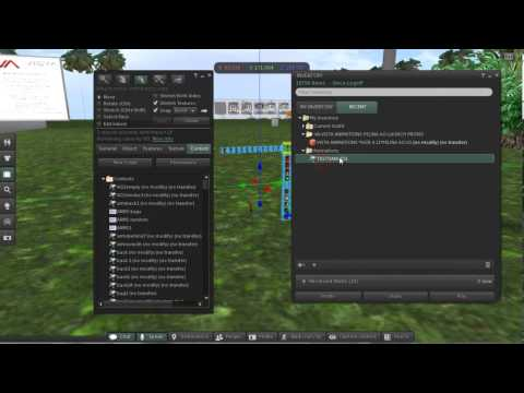 VISTA ANIMATIONS How to add new dance animation into the VA AO HUD (Second Life)