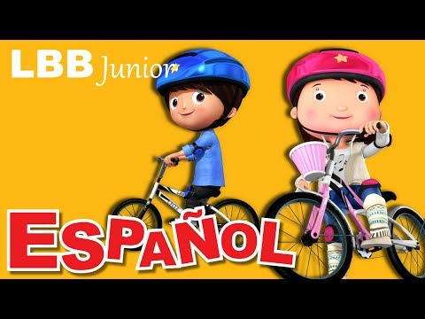 Montar en bicicleta | Canciones infantiles | LBB Junior