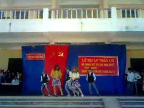 Dance NOBODY - 12B2 THPT Cam Ba Thuoc