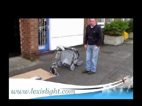 Folding The Lexis Light Easy Travel Scooter