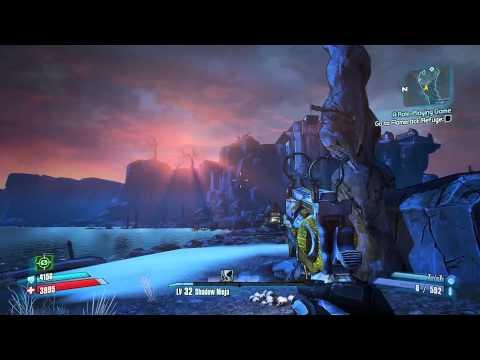BORDERLANDS 2 Tiny Tina's Assault on Dragon Keep DLC First Five Minutes |