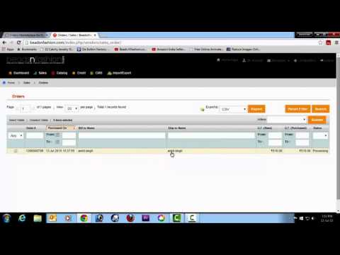 How to print documents for courier pickup at beadsnfashion   YouTube