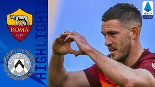 Roma 3-0 Udinese | Veretout Brace Helps Roma Climb To Third! | Serie A TIM