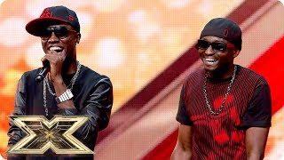 Reggie n Bollie Make Their Point With This AMAZING Audition! | The X Factor UK