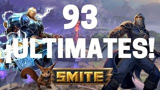 SMITE: 93 ULTIMATES BURST DAMAGE