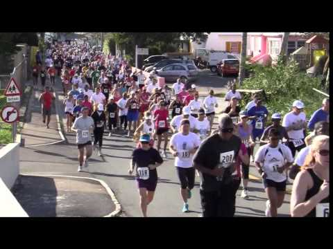 Butterfield & Vallis 5K Start Bermuda February 5 2012