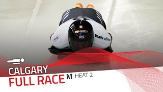 Calgary (WCup 7) | BMW IBSF World Cup 2018/2019 - Men's Skeleton Heat 2 | IBSF Official