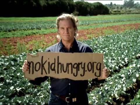 No Kid Hungry - Public Service Announcement with Jeff Bridges