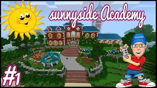 Minecraft Better Together🎮 | Sunnyside Academy📐 {1} Quick Look  |  XB1 GamePlay
