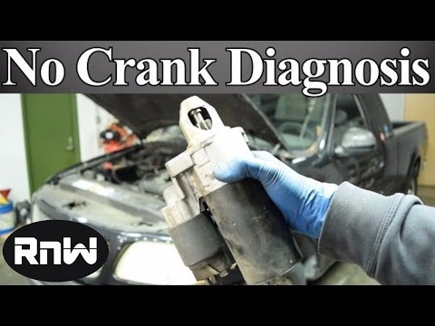 How to Diagnose a No Crank No Start Issue - Nothing or only a Click When the Key is Turned