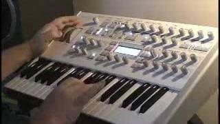 ACCESS Virus Ti Polar Keyboard Abdeckung von Viktory