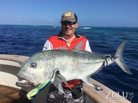 Popping + Jigging - GT & Dogtooth Tuna - Holmes Reef On ZULU