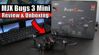 MJX Bugs 3 Mini REVIEW & Unboxing: Compact RTF Drone with Acro mode