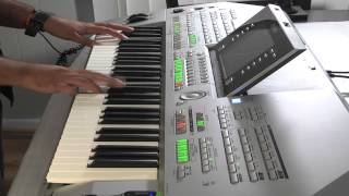 Niloufar - Intro (Yamaha Tyros) Persian Keyboard